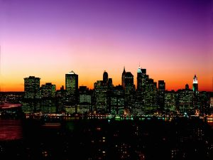Manhattan-Skyline-at-Twilight-New-York