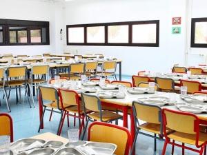 Comer en el comedor escolar con diabetes vive tu diabetes for Ayudas para comedor escolar
